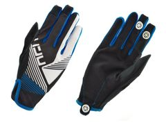 Handschoen line blauw m