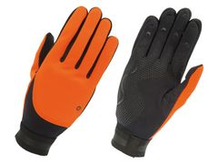 Agu handschoen fleece liner oranje xs