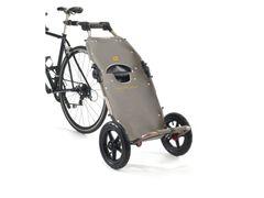 Burley fietskar travoy bagage fietskar grijs