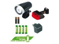 Sigma voor+ achterlamp lightster + cuberider 2 com