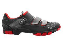 Fizik m6 uomo boa schoen zwart / rood 40,5