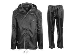Agu passat rain suit black xxl