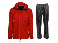 Agu passat rain suit red xs