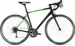 CUBE ATTAIN BLACK/FLASHGREEN 2018 56 CM