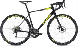 CUBE ATTAIN RACE DISC BLACK/FLASHYELLOW 2018 62 CM