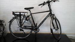 Multicycle heren, zwart