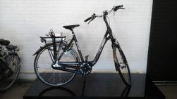 Multicycle carbon, zwart grijs