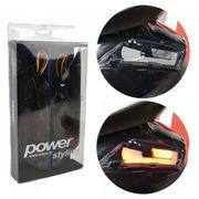 Knipperlicht Set Piaggio Zip Achter LED Titanium Audi Power1