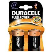 Batterij Duracell monocell MN1300 per 2 op kaart grote staaf