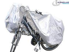 Beschermhoes Fiets Aplus Grijs (passend voor 1 fiets)