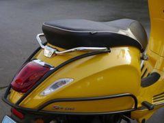 Achtervalbeugel Zwart-Mat Vespa Sprint/Primavera Origineel