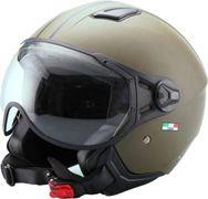 Helm Vito Moda Jet Groen-Mat - XL