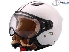 Helm Vito Moda Jet Wit Glans - XS