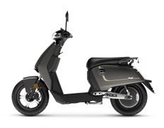 Super Soco Cux E-scooter 25km, Charcoal Grey
