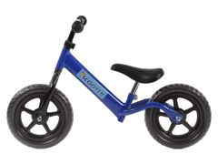"""PexKids kinder scooter / loopfiets 12"""" staal blauw"""