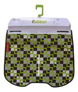Qibbel Stylingset luxe Windscherm Checked-green Q717