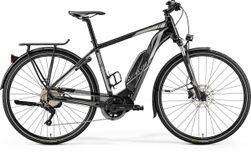 Merida E-Spresso 300 Glossy Black/Silver, Zwart