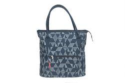 Cameo shopper tas triangle blue