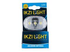 KOPLAMP BATT IKZI WHITE LIGHT 3 LED OP 20 P/DOOS  1420325N