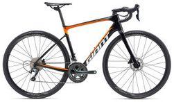 Giant Defy Advanced, Carbon/Orange Maat M/L