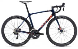 Giant TCR Advanced Pro Disc, Candy Blue L frame