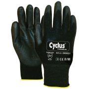 Werkhandschoen Nylon M/8 gele kraag Cyclus 292562