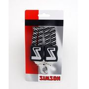 BINDER SIMSON OMA LANG ZWART/WIT MELEE 021357