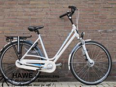 Batavus Fuego Limited Edition, wit / blauw