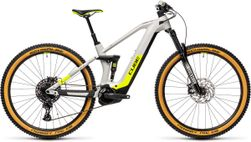 Cube Stereo Hybrid 140 HPC Race 625, Incl. 625Wh, grey/yellow