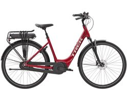 Trek District+ 4 Lowstep, Incl. 300Wh, Rage Red