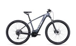 CUBE Reaction Hybrid Performance 500, Incl. 500Wh, Metallicgrey/white