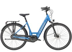 Trek District+ 6 Lowstep, Incl. 400Wh, Alpine Blue