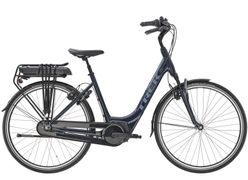 Trek District+ 4 Lowstep, Incl. 300Wh, Nautical Navy