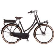 Cortina E-U4 Transport, Incl. 450Wh, Jet Black Matt