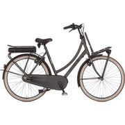 Cortina E-U4 Transport Raw, Incl. 450Wh, Black Gold Matt