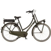 Cortina E-U4 Transport, Incl. 450Wh, Elegance Green Matt