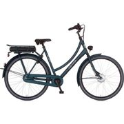 Cortina E-U1, Incl. 450Wh, Deep Green Matt