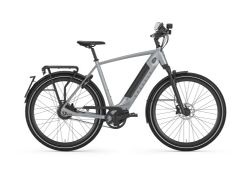 Gazelle Ultimate Speed C380, Incl.1000Wh accu, industry grey mat