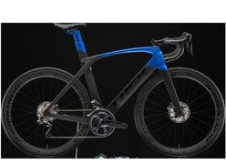 Trek Madone SL 7, Matte Black/Gloss Alpine Blue