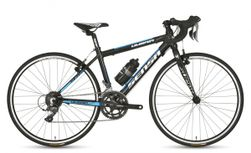 Sensa Umbria Junior X-racer, Shiny black + aqua blue