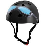 Kiddimoto helm Black Goggle Small Array