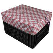 Hooodie Box M Pink Checker Array