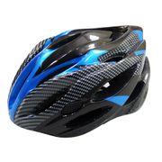 BR4B Helm 58-62 zwart blauw