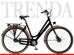 Pointer Trenda, Zwart-rood