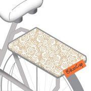BIKECAP Pillow fietskussen pretty lace wit/beige