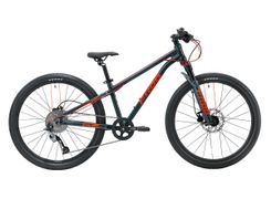 Frog 62 MTB, METALLIC GREY NEON RED