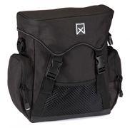 Willex afneembare fietstas sportief zwart 10L.