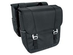 Forenz dubbele e-Bike tas zwart 24l. waterresistant