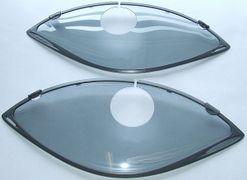 Gazelle Linea jasbeschermers voor 57-61 cm. frame