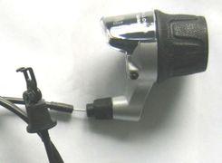 Draaigreep versteller SRAM I-Motion 3V met kabels